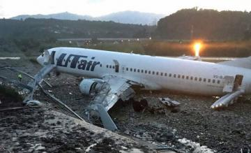 Gecrashte Boeing 737 van UTair