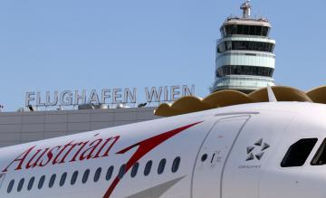 Wenen Airport Austrian Airlines