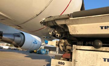 KLM botsing