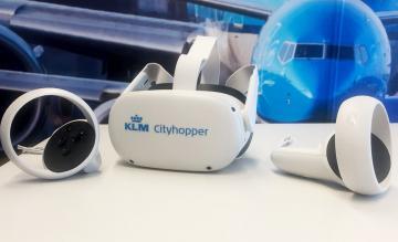 KLM virtual reality