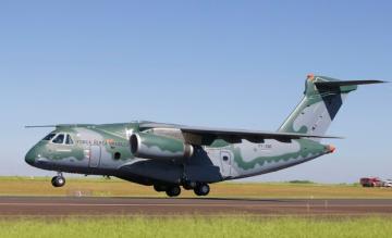 embraer-, kc-390, transportvliegtuig
