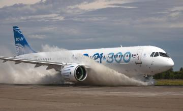 Irkut MC-21-300 watertest