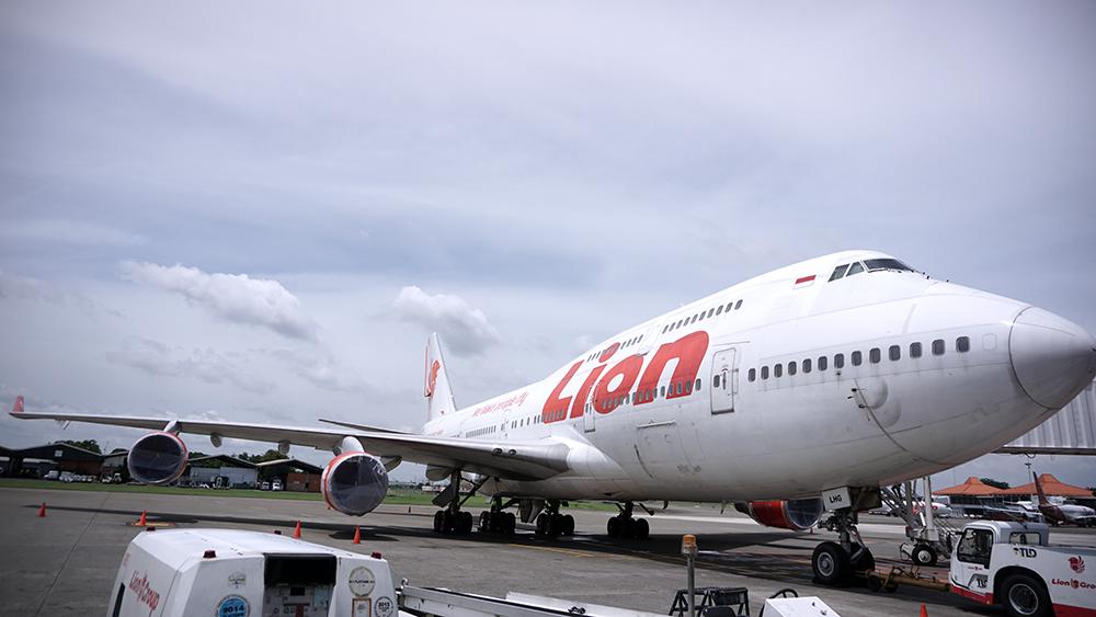 Boeing 747 Lion Air