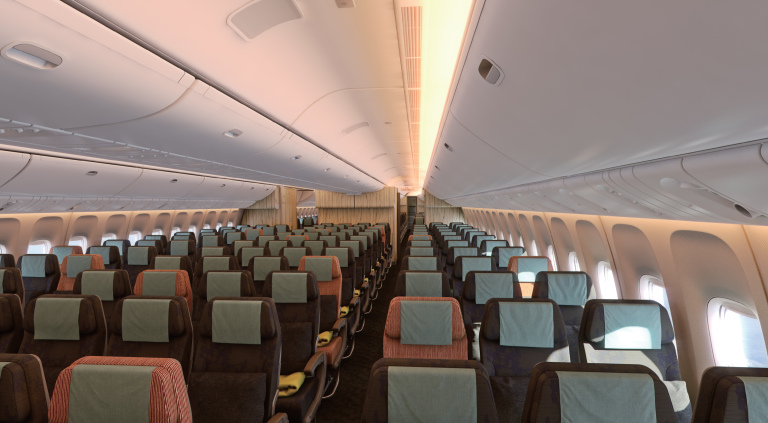 China Airlines 777 Economy