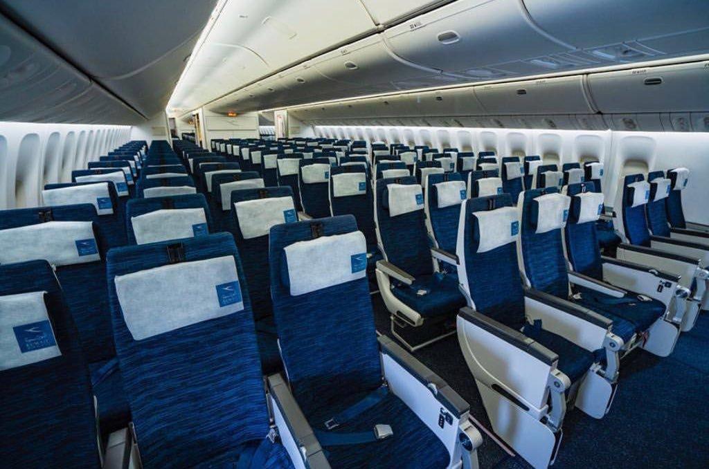 Kuwait Airways Boeing 777 Economy