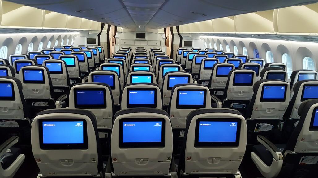 Eerste boeing 787 9 dreamliner aeromexico landt op for Interior 787 aeromexico