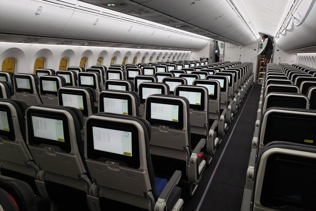 Turkish Airlines Toont Interieur Nieuwe Boeing 787