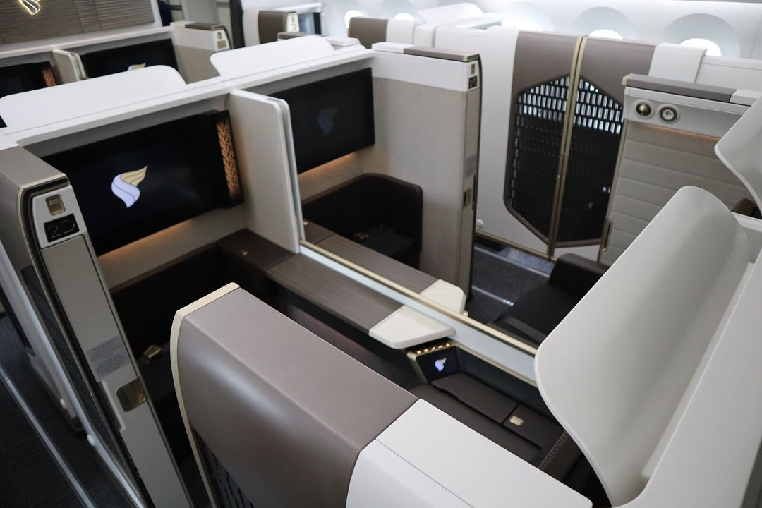 Oman Air Boeing 787 First Class
