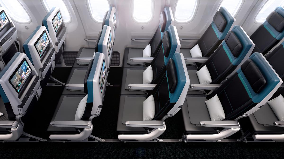 WestJet 787 Economy