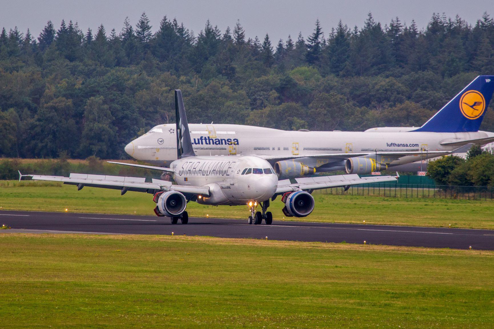 A319 Brussels Airlines Twente
