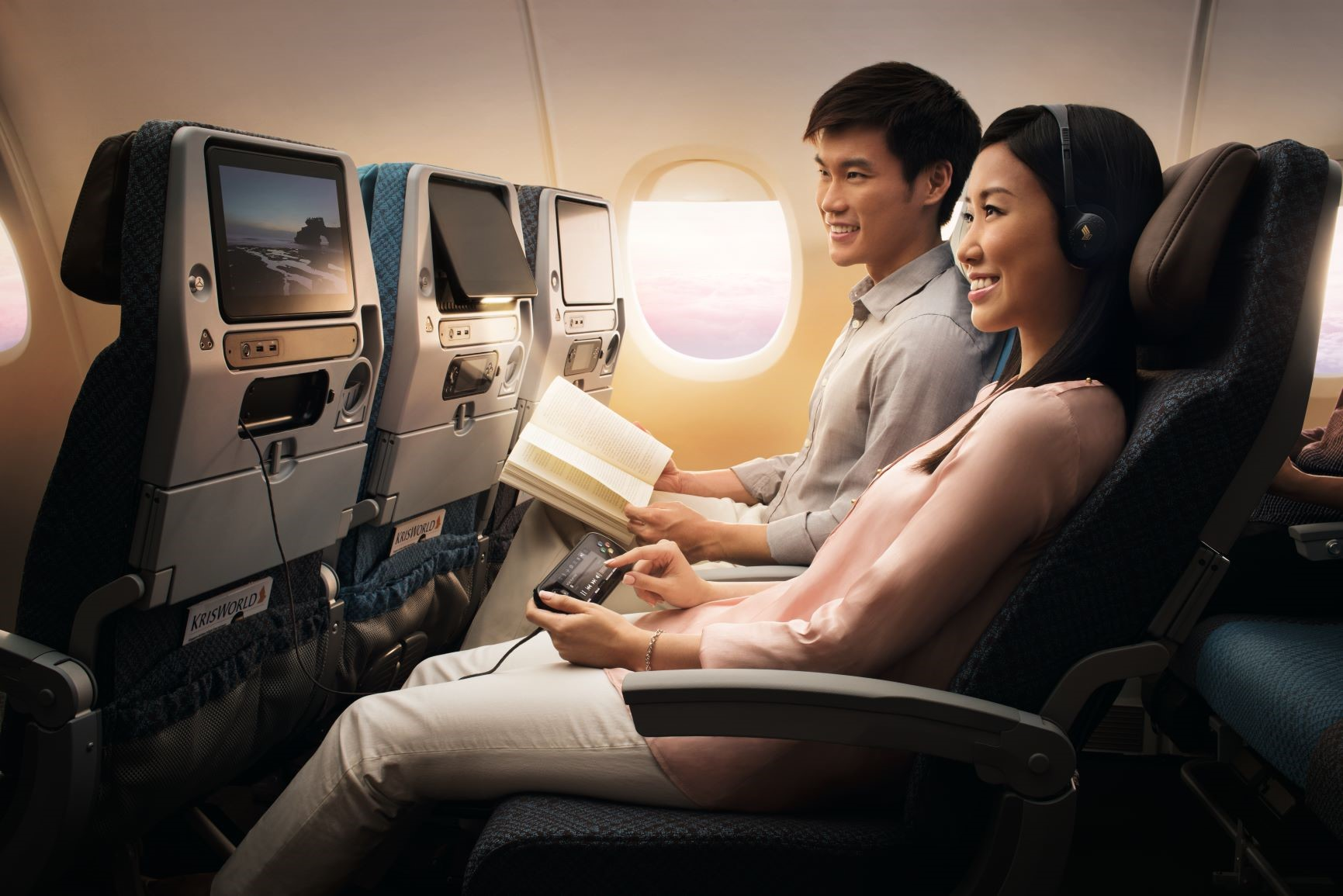 Singapore Airlines A350 Economy