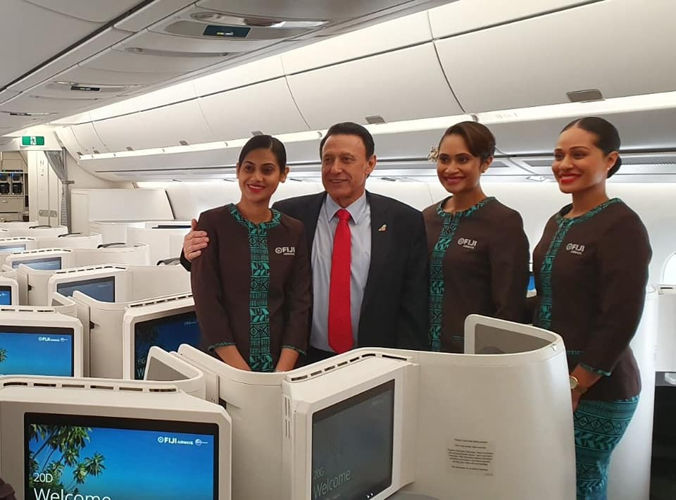 Fiji A350 Business Viljoen