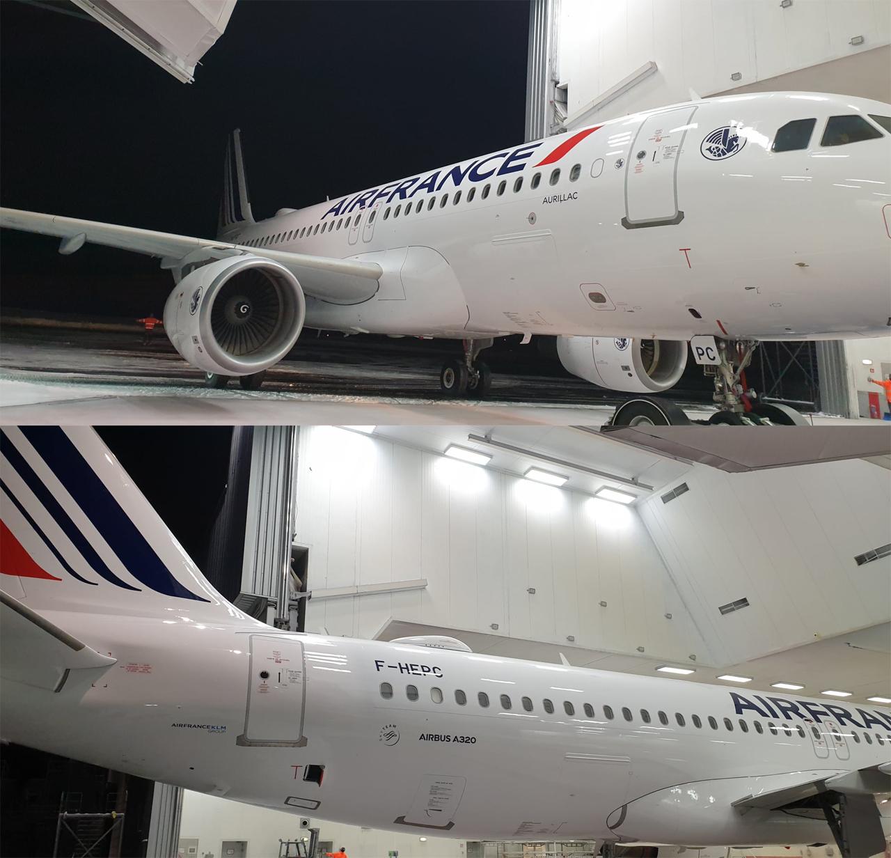 Air France A320new