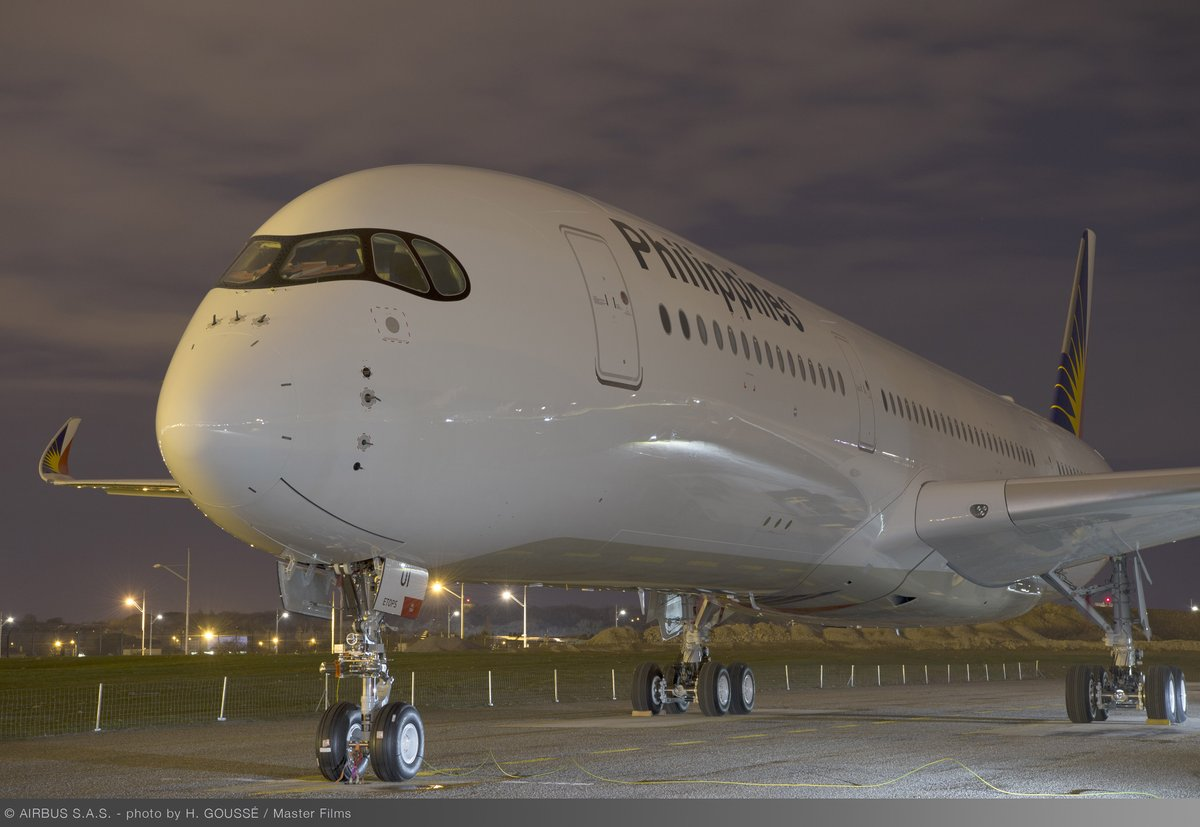 Airbus A350-900 Philippine Airlines