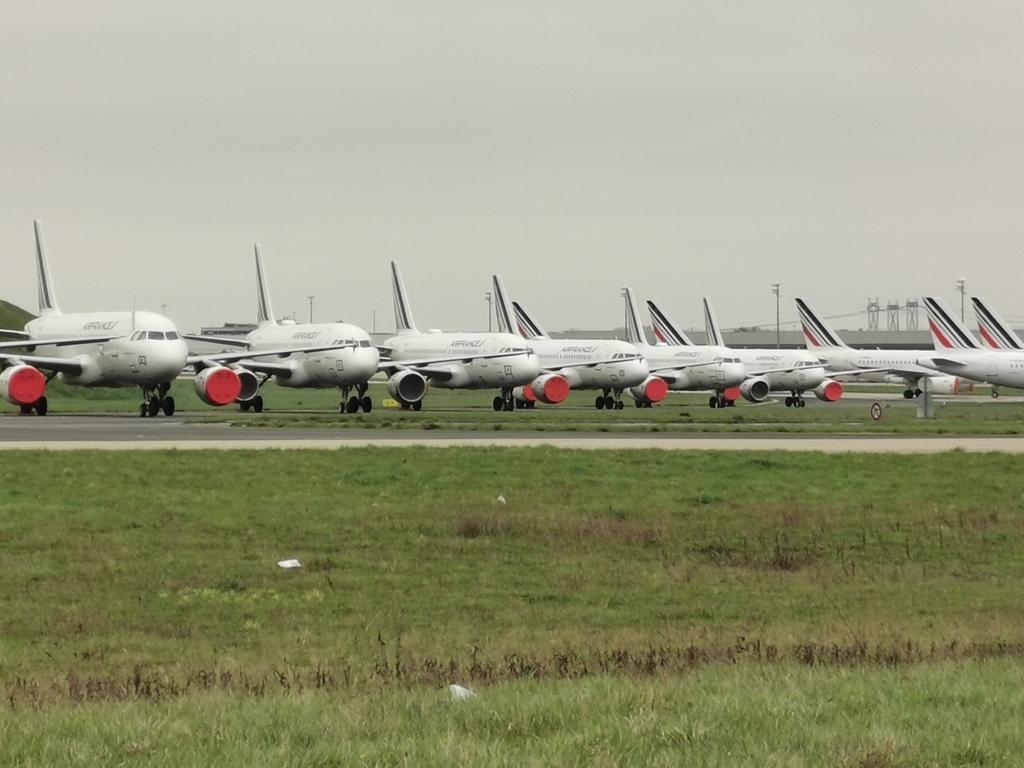 Air France-vliegtuigen