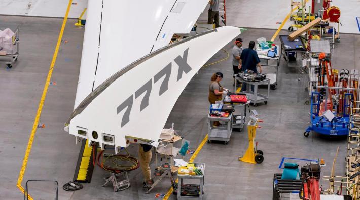 Boeing 777X vleugel