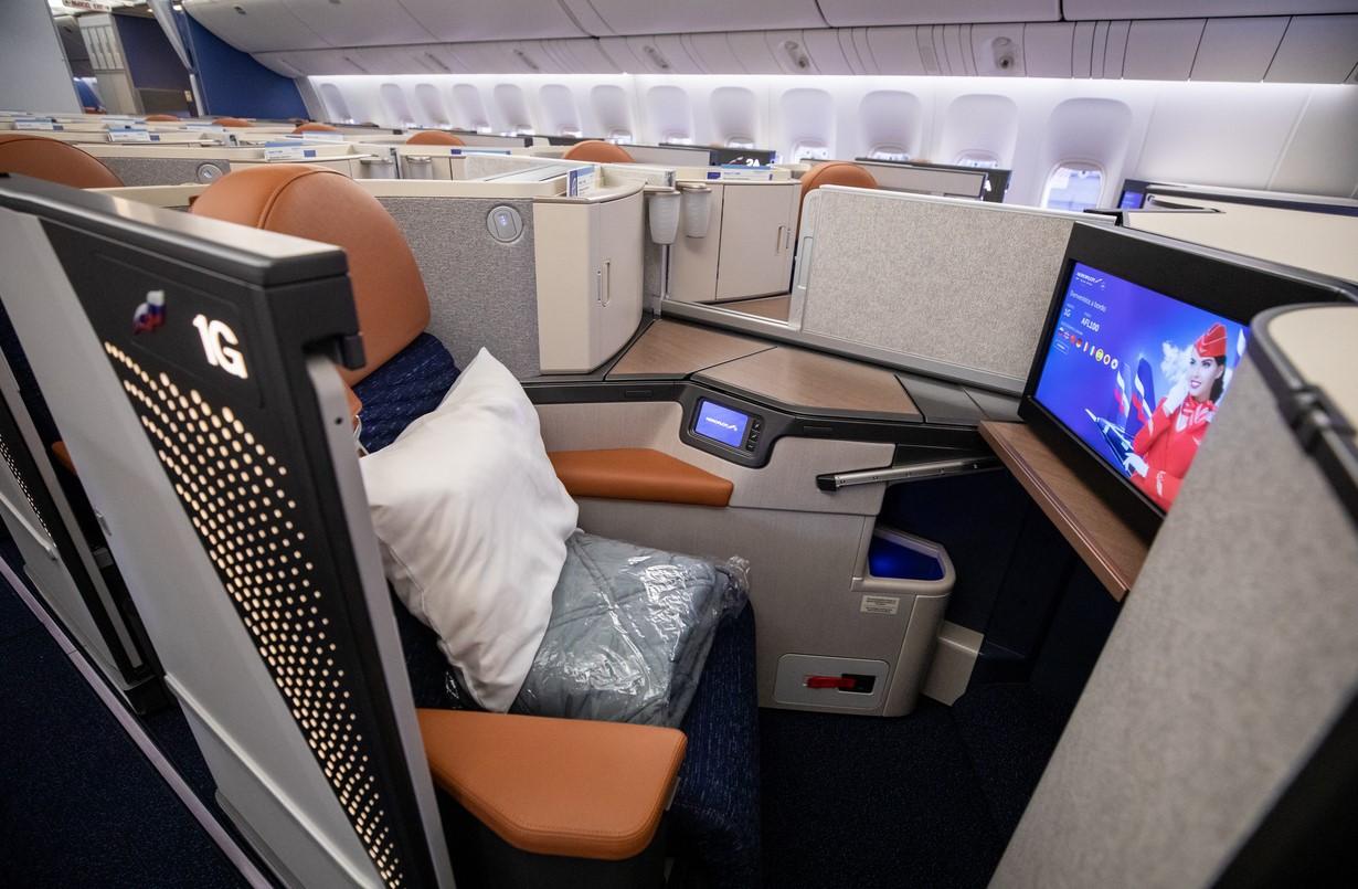 Aeroflot 777 Business Class