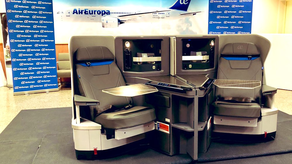 Air Europa Business Class nieuw