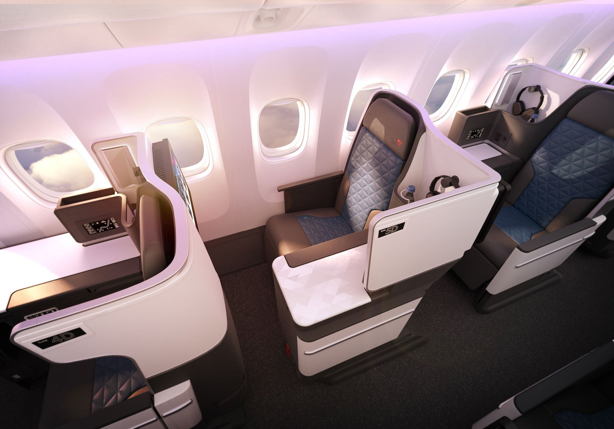 Boeing 767-400 Business Class