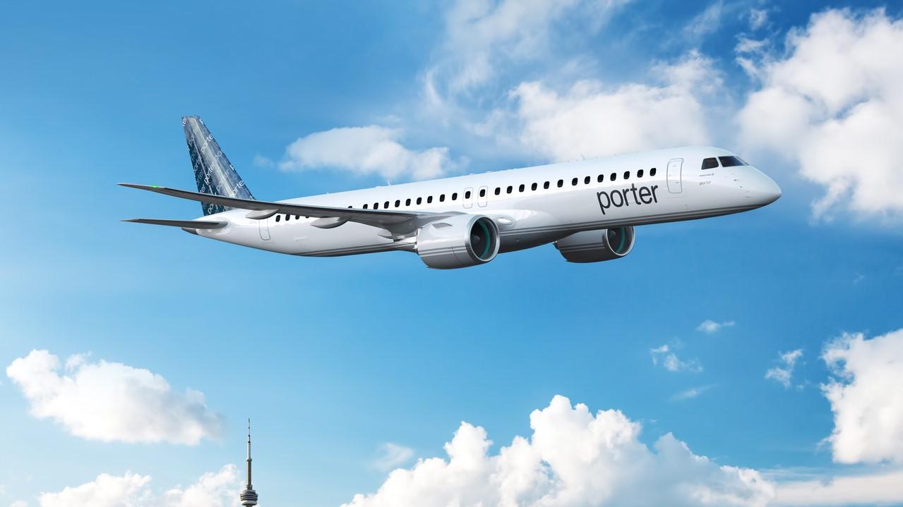 Embraer E195-E2 Porter