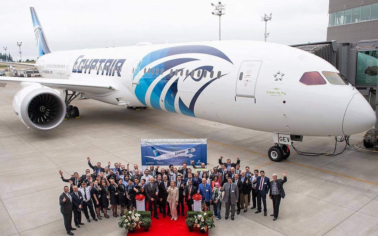 EgyptAir Boeing 787