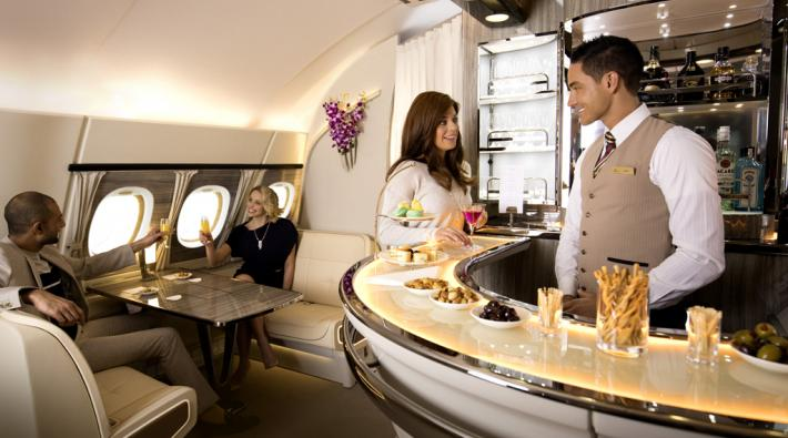 Bar Emirates A380