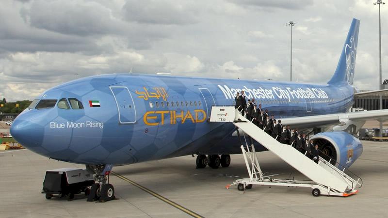 Etihad Manchester City A330