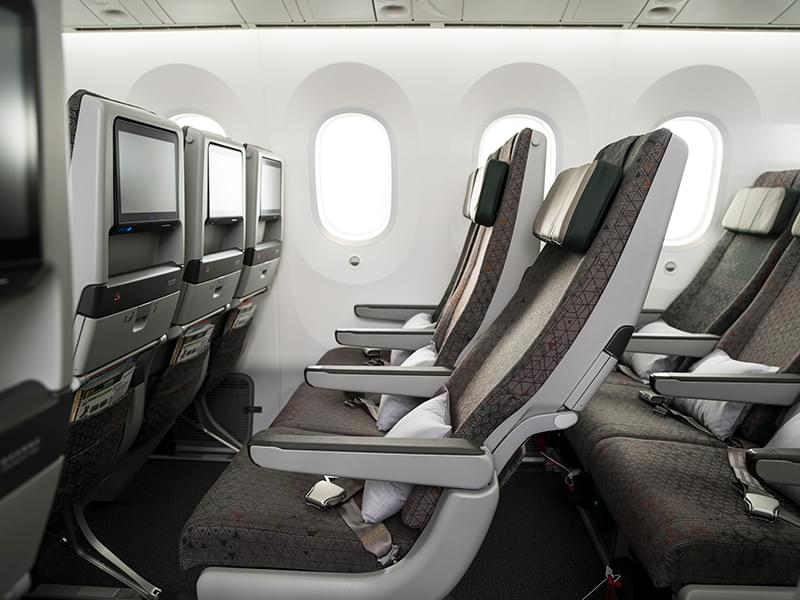 EVA Air Boeing 787-9 Economy Class