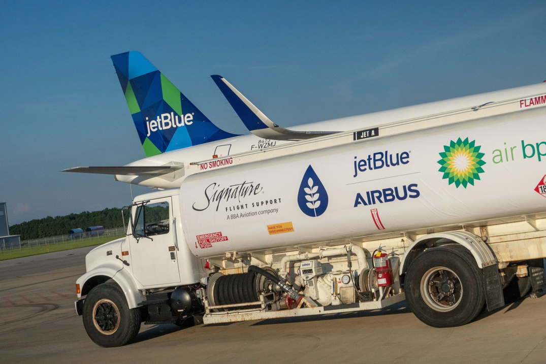JetBlue biofuel A321