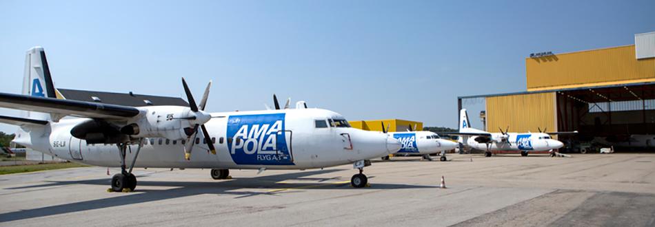 Amapola Flyg Fokker 50's