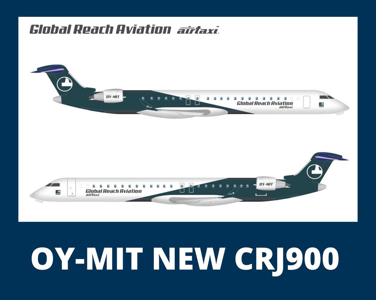 Global Reach Aviation CRJ900
