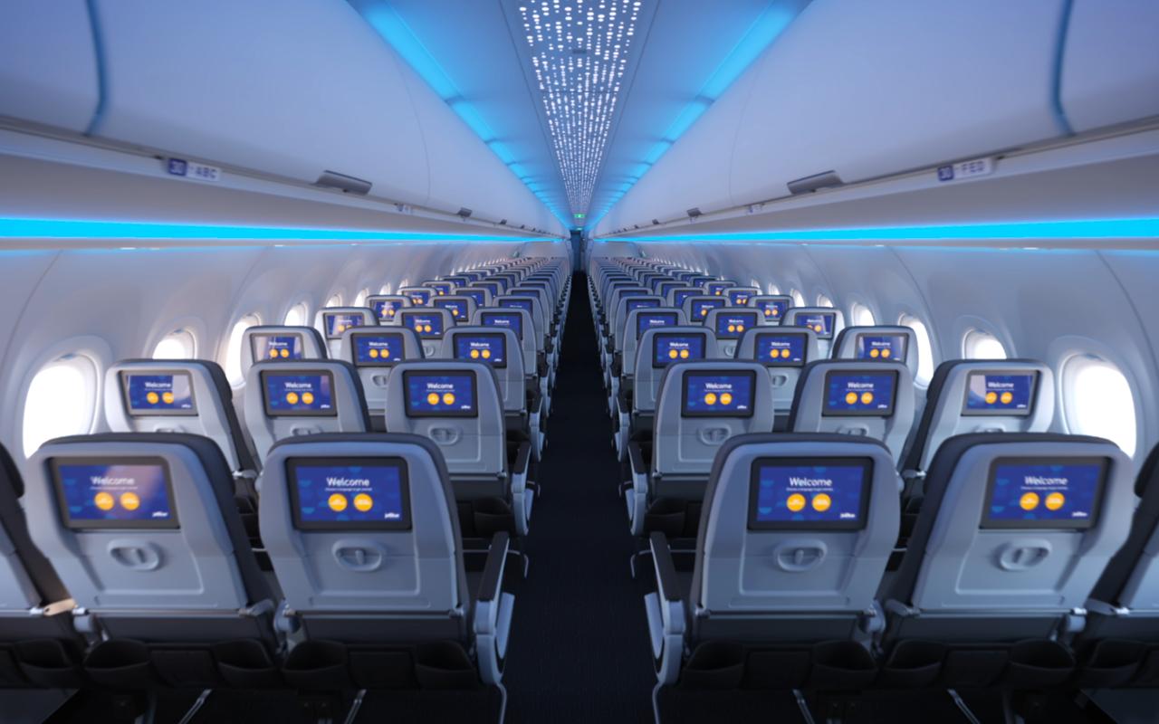 JetBlue A321LR Economy