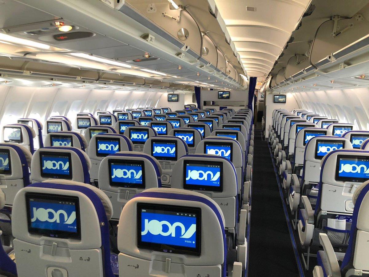 Joon A340 Economy Class