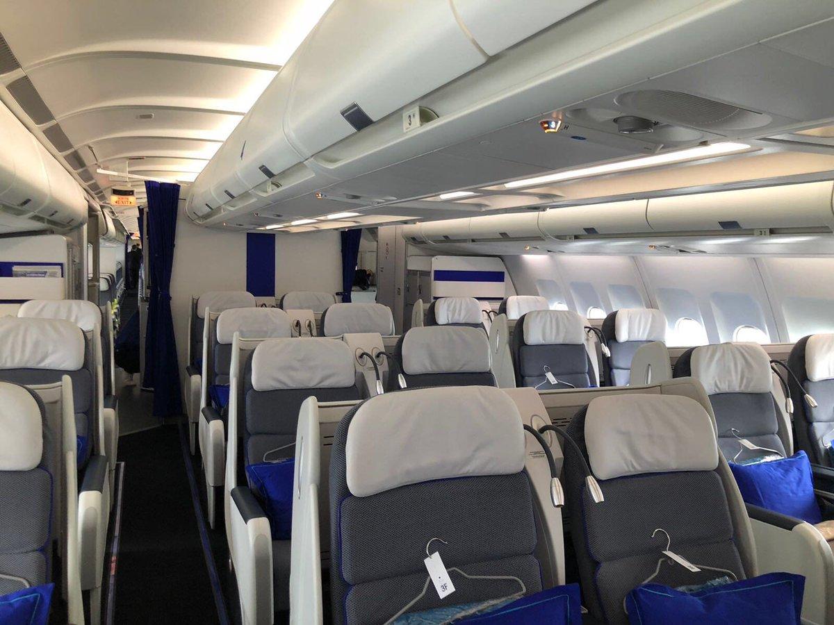 Joon A340 Business Class