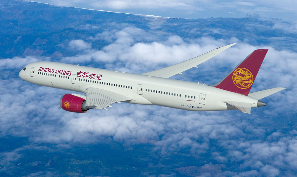 Juneyao Airlines Boeing 787 Dreamliner
