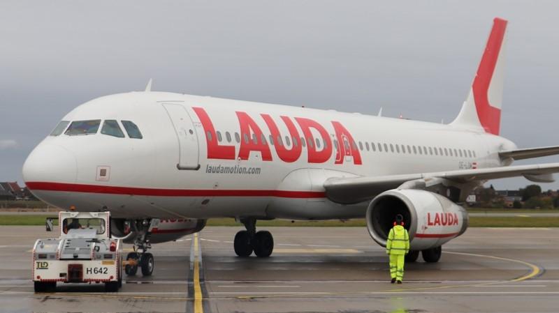 Charleroi Airport Laudamotion