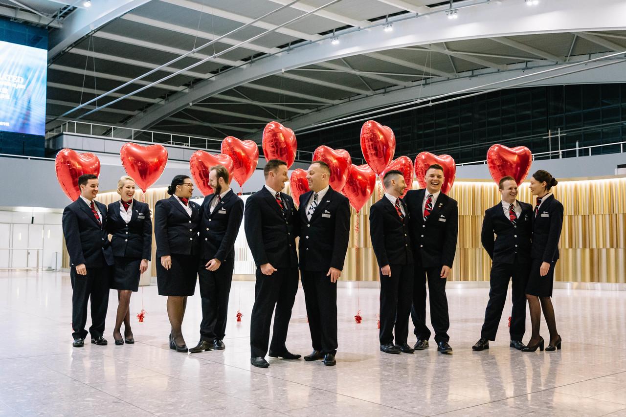 British Airways Love Crew