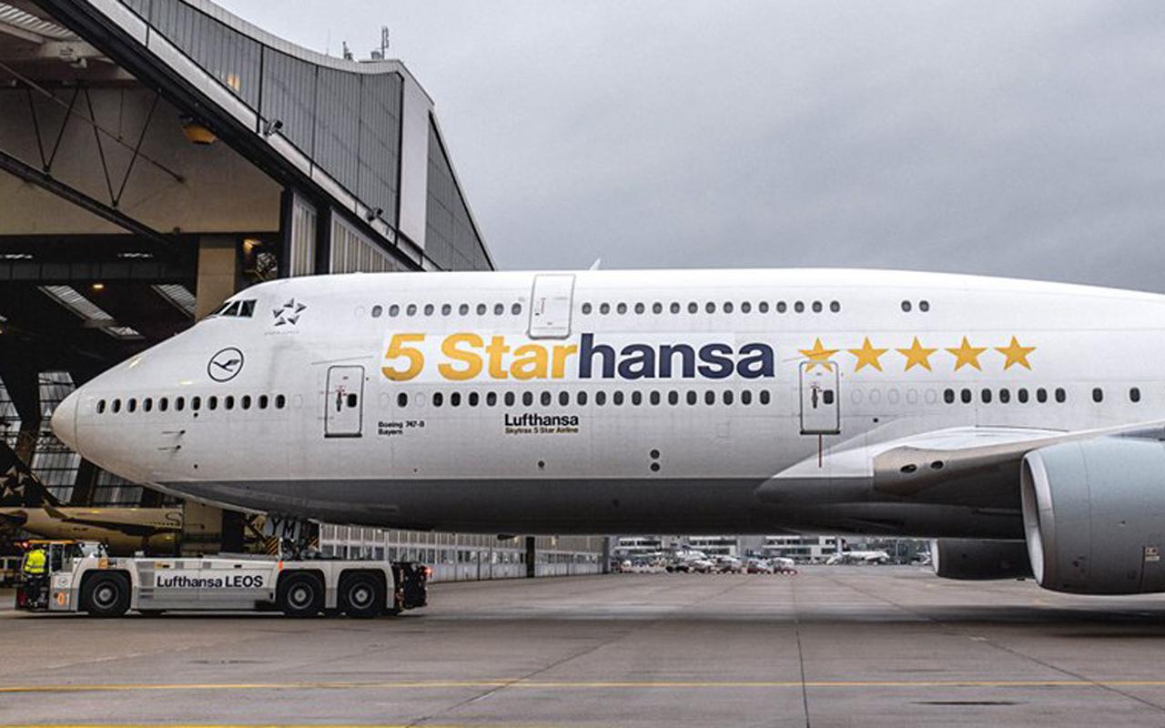 Lufthansa 747