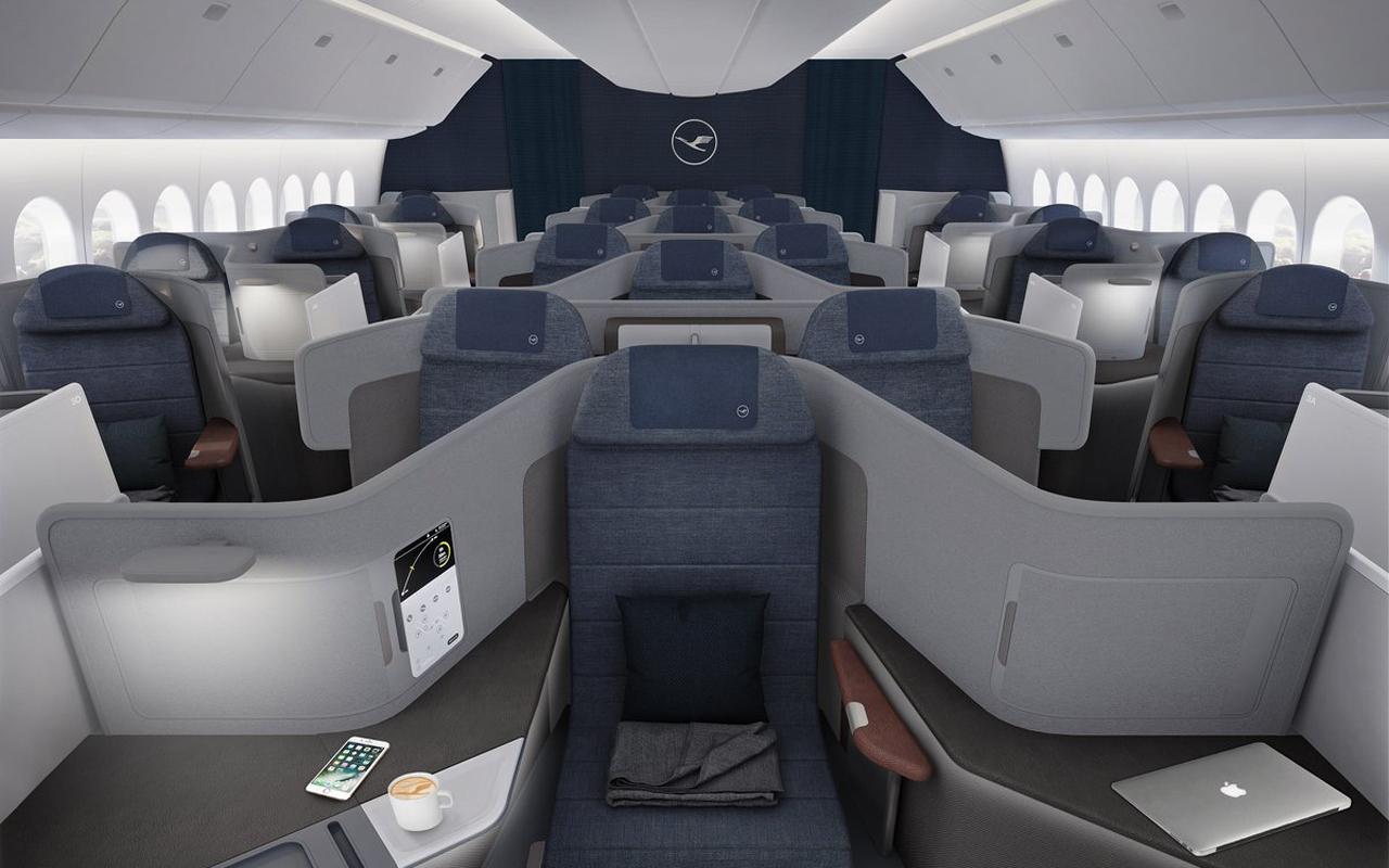 Lufthansa 777-9 Business Class