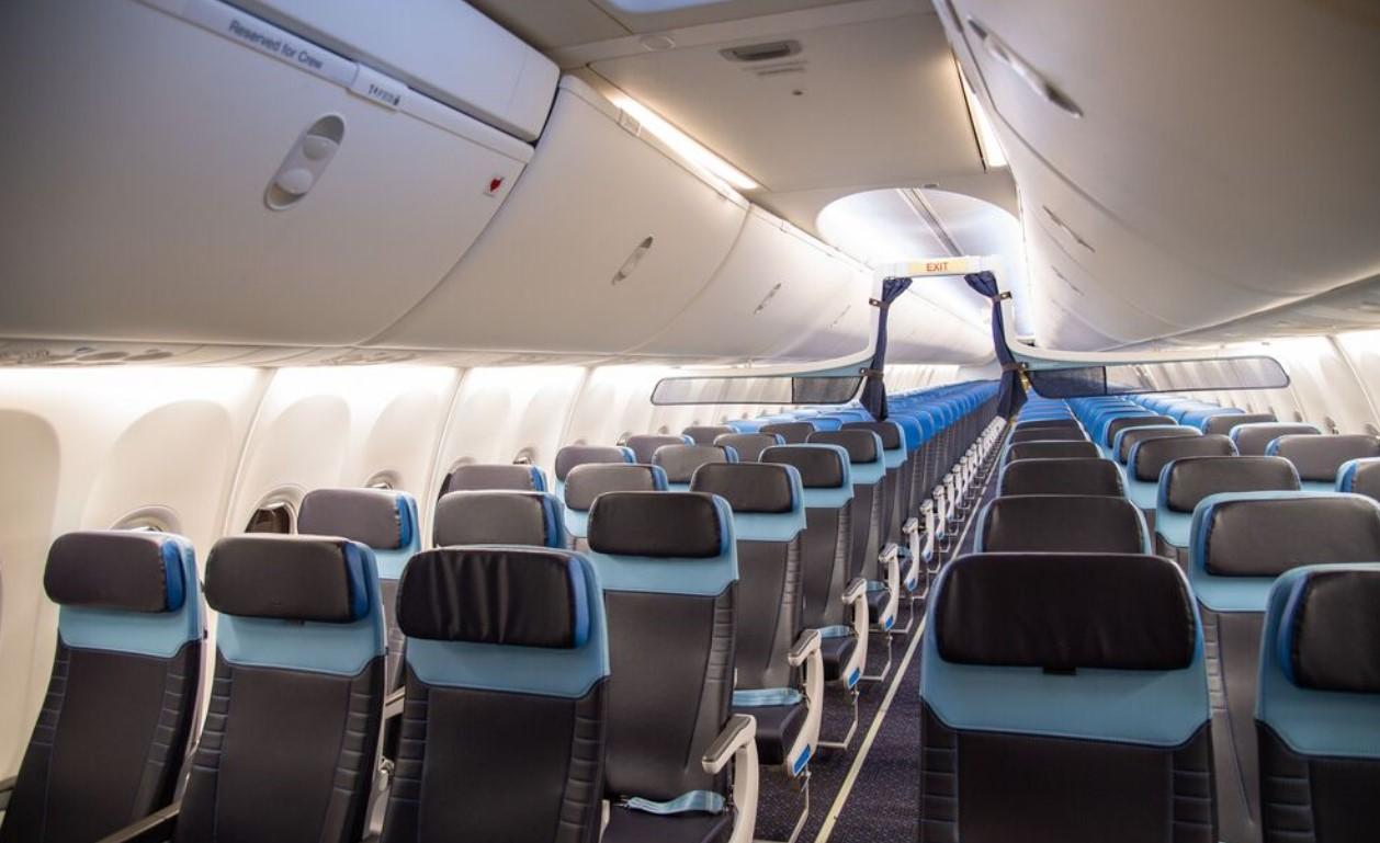KLM Nieuw Interieur 737