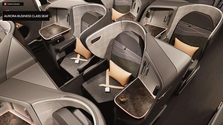 Turkish Airlines nieuwe Business Class