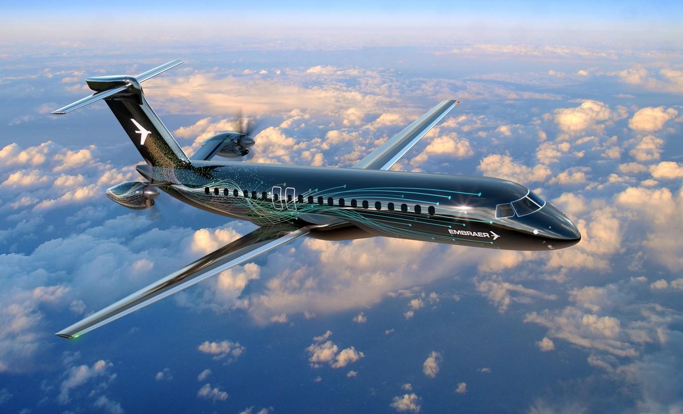 Embraer Turboprop Nieuw Ontwerp