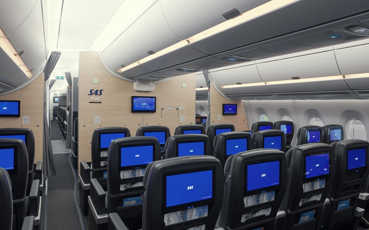 SAS A350 Premium Economy