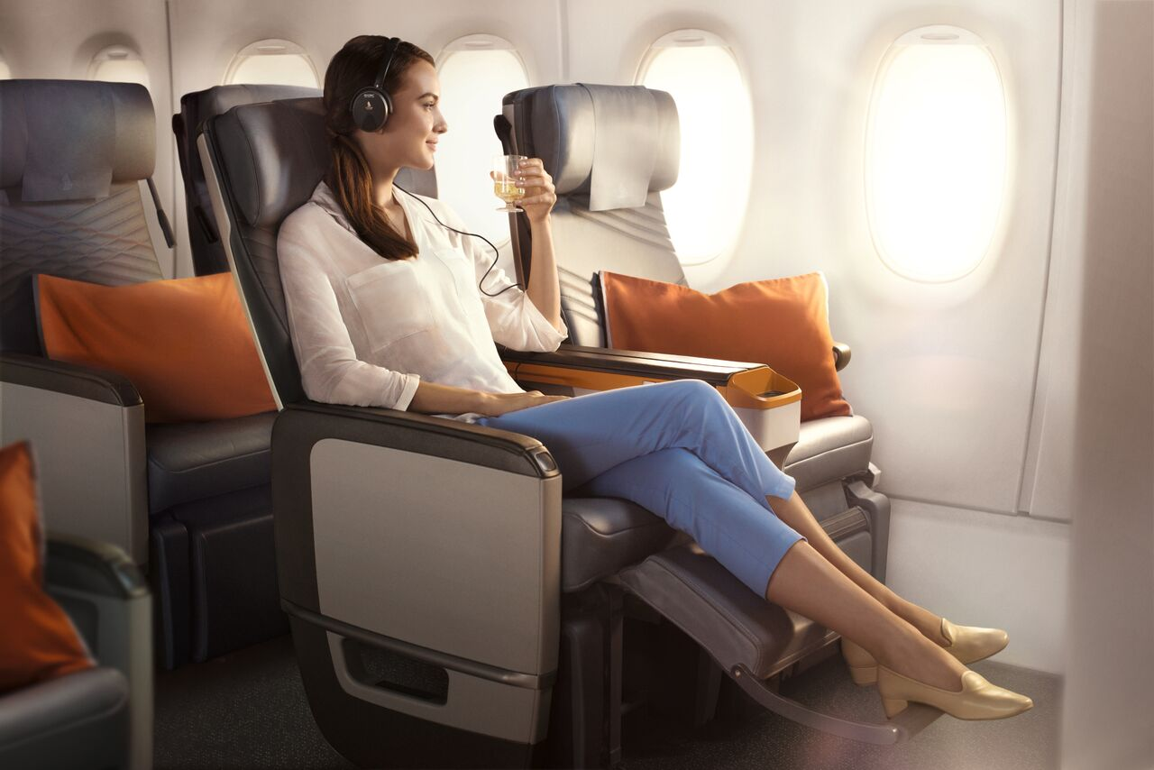 Singapore A350ULR Premium Economy