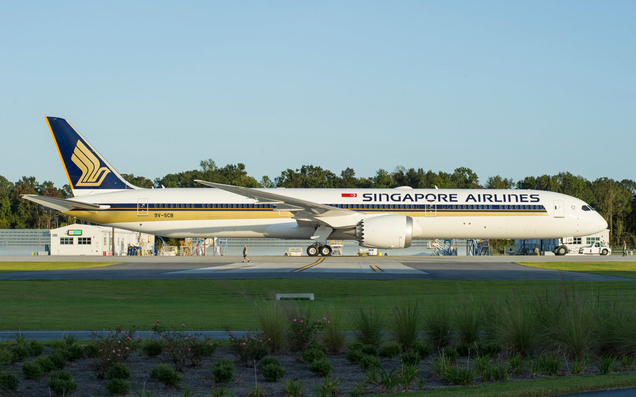 Singapore Airlines 787