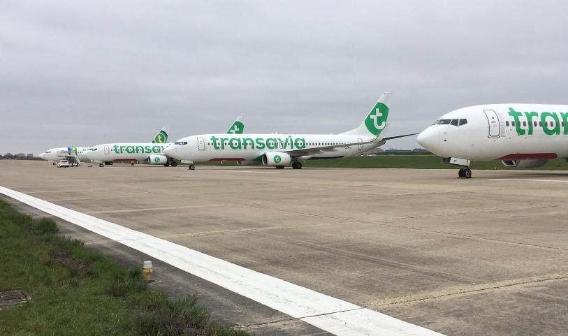 Transavia France-vliegtuigen
