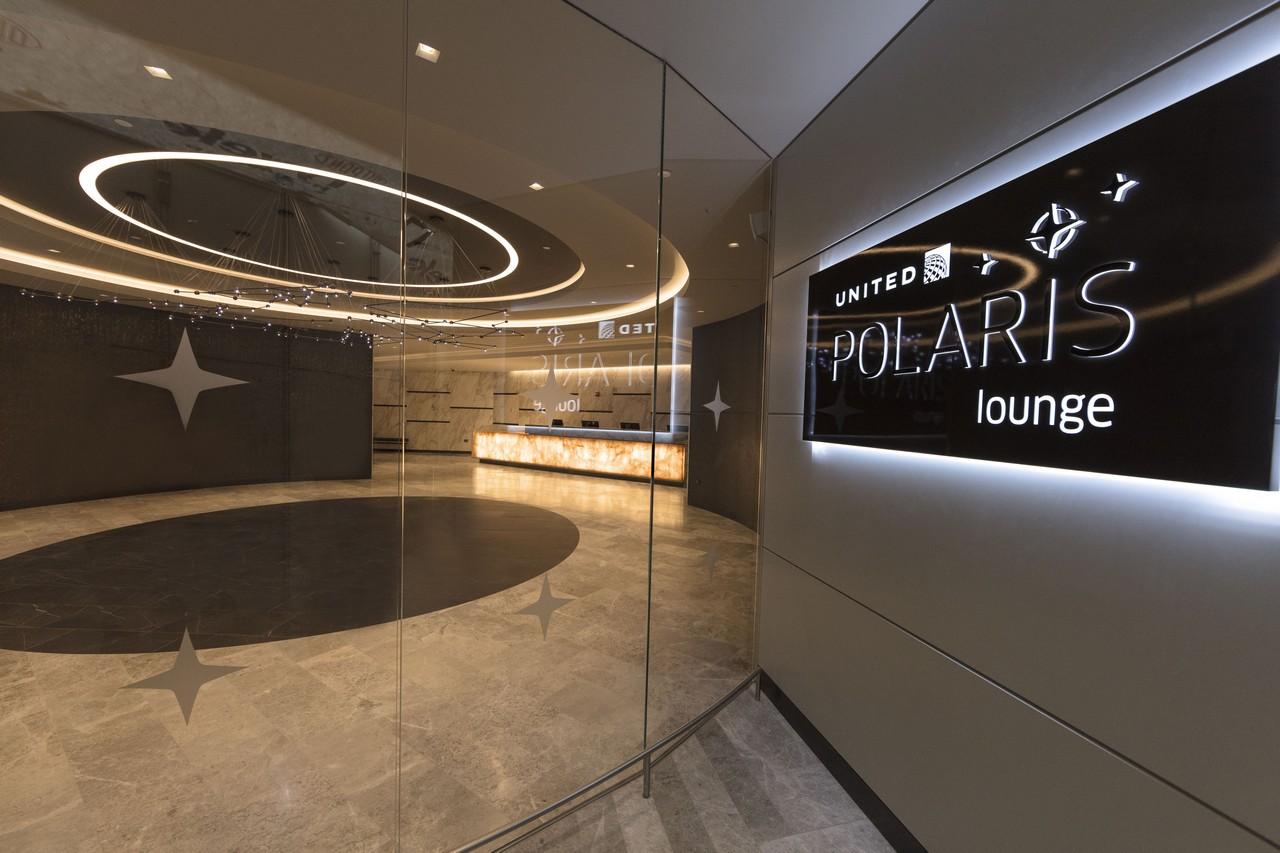 United Polaris-lounge Newark