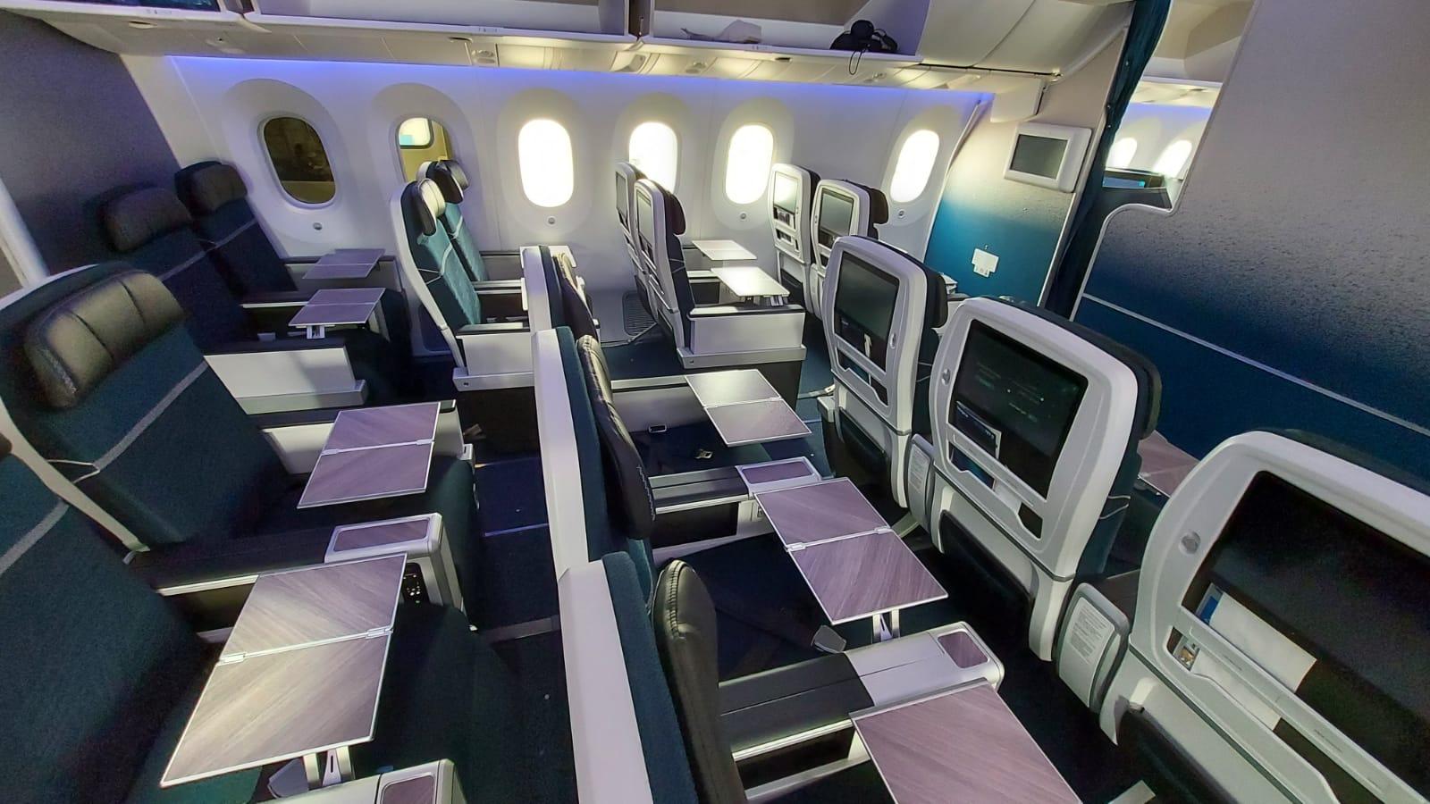 WestJet 787 Premium Economy