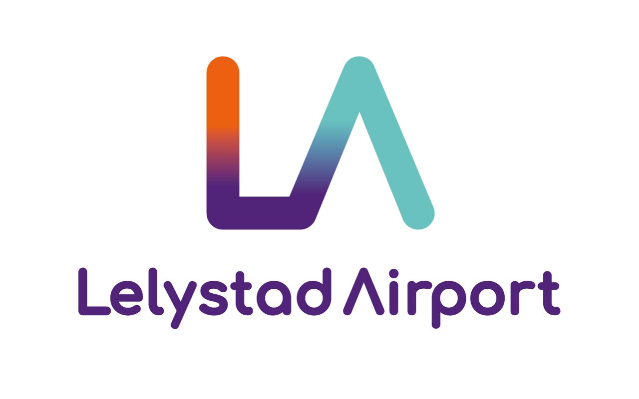 Lelystad Airport logo nieuw