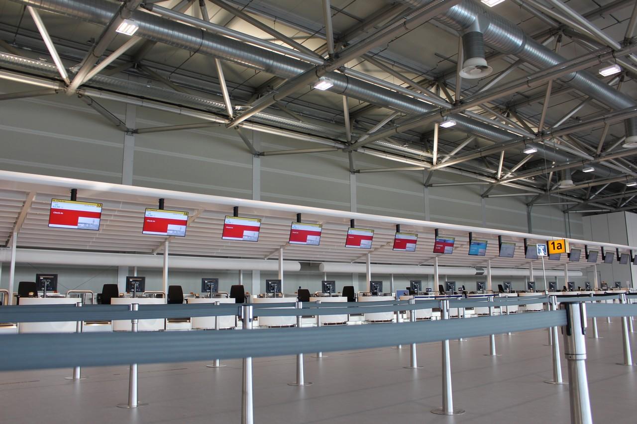 Vertrekhal Schiphol